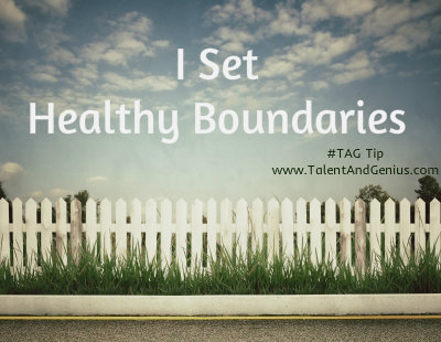 SETTING BOUNDARIES 2