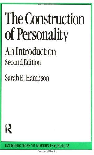 Construction of Personality