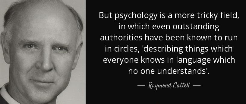Raymond Cattell4-